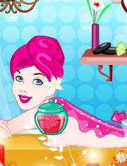 Joaca BARBIE LA SPA
