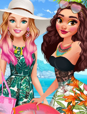 BARBIE SI MOANA IN VACANTA