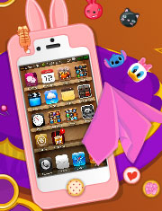 Joaca IPHONEUL PRINTESEI BARBIE